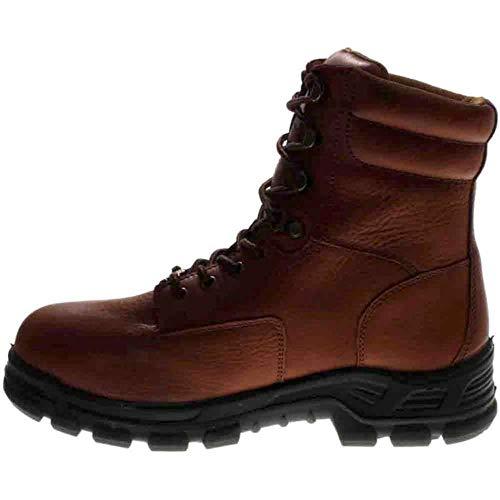 "Carhartt Men's CMZ8340 Made in USA 8"" Comptoe Work Boot, Brown, 9 M US"