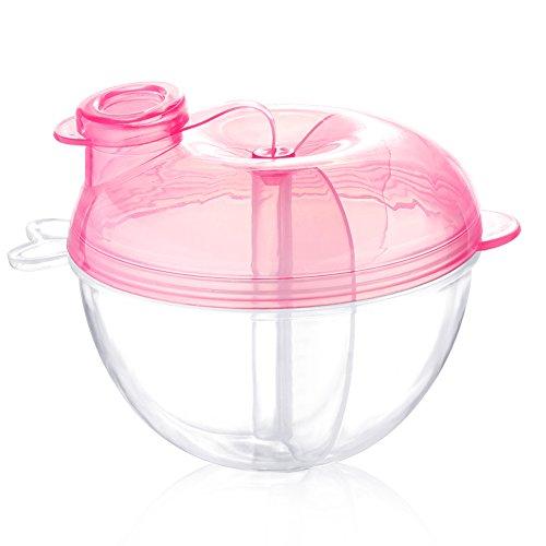 Accmor Baby Milk Powder Formula Dispenser, Non-Spill Formula Dispenser...