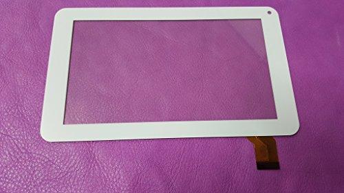 Pantalla táctil blanca para tableta Airis onepad 715 One Pad Tablet 7'