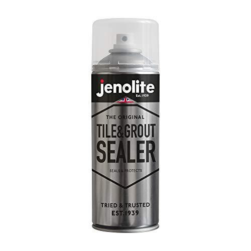 JENOLITE Sellador de azulejos y lechada en aerosol, 400 ml