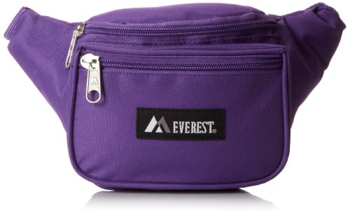 Everest Signature Waist Pack-Standard, Dark Purple, One Size