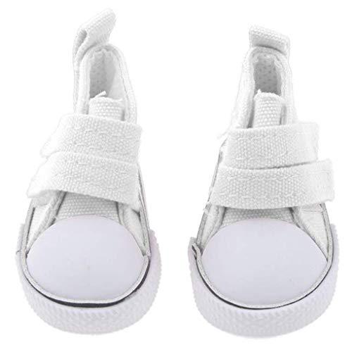 Morza 1 Paire 5cm Doll Chaussures de Toile Seakers Doll Toy Chaussures de Sport Chaussures de Tennis Enfants Jouets Cadeaux