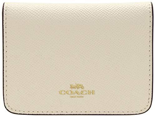 (コーチ) COACH パスケース カードケース 定期入れ レザー キーリング BIFOLD CARD CASE アウトレット F31885 [並行輸入品]