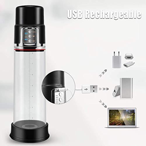 PALOQUETH Electronic Male Enhancement Penis Pump