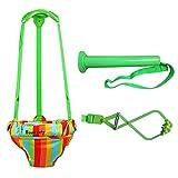 N/J Door Jumper Swing Bumper Jumper Exerciser, Adjustable Strap For Toddler Infant 6-24 Months, Jumper For Baby, Baby Products Baby Exerciser For Active Babies With Door Clamp