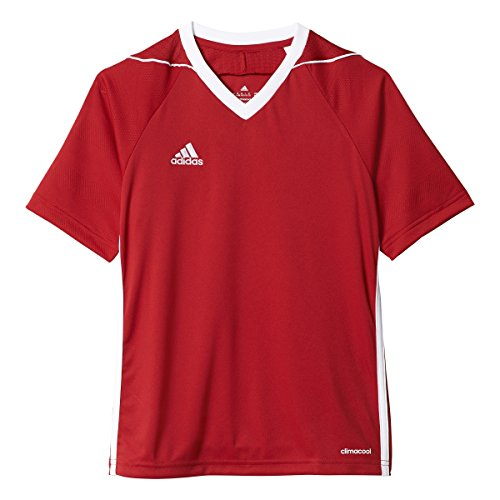 Adidas Youth Tiro 17 Soccer Jersey S Power Red-White