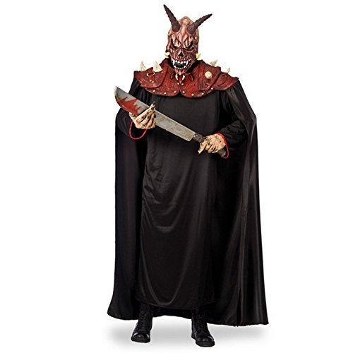 Costume Demon des Enfers + Cape - Deguisement Halloween Accessoire - 414