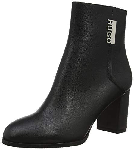 HUGO Victoria Bootie70-GR, Damen Stiefeletten, Schwarz (Black 001), 38.5 EU (6 UK)