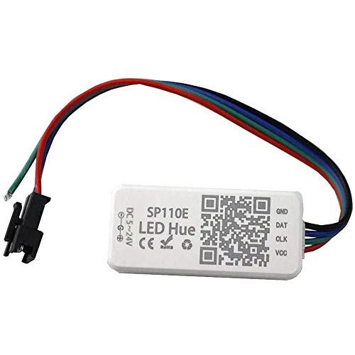 VIPMOON SP110E Bluetooth Controller für WS2811 WS2812B WS2813 SK9822 APA102 LED-Lichtleiste