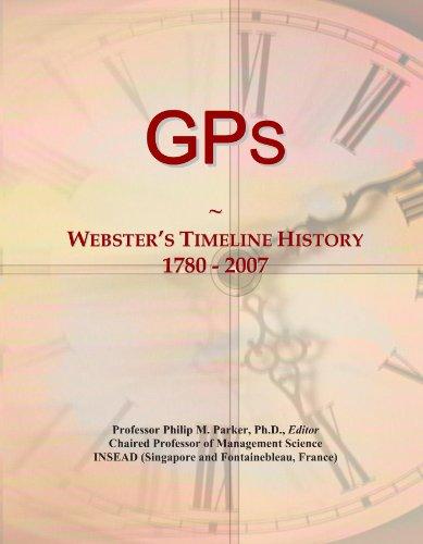 GPs: Webster's Timeline History, 1780 - 2007