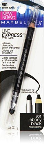 Price comparison product image Maybelline New York Line Express Eyeliner,  Ebony Black 901,  0.035 Ounce