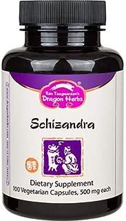 Dragon Herbs Schizandra -- 500 mg - 100 Capsules