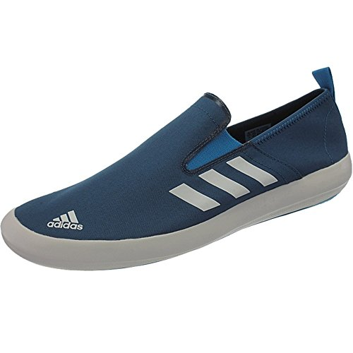 adidas Boat Slip-On DLX Water Pumps Shoes Outdoor Trainers Blue Q34249 Size 9.5