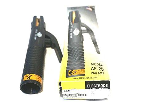 Lenco 01030 LE AF/HT Electrode Holders, 300 Amp, Nylon/Glass, for 2/0 Cable, 3/16