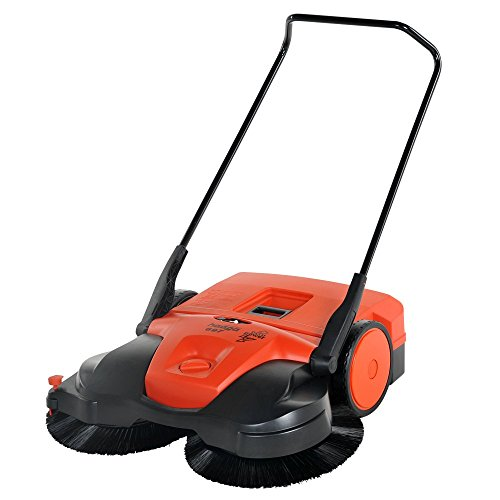 Haaga 697 Profi-line Battery Powered Triple Brush Sweeper, 38