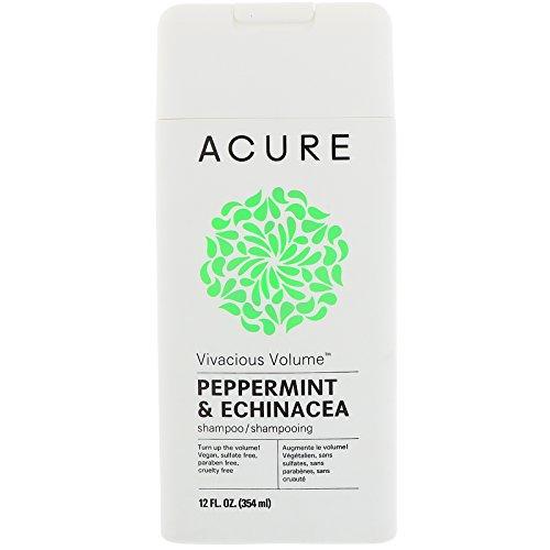 Acure Organics lebhaften Volumen Shampoo, Pfefferminze & Echinacea, 12fl oz (354ml)