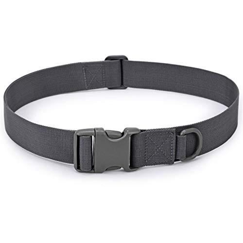 Multifunction Waistband Military Rescue Useful Sport Belt Series In Multiple Pockets Men Adjustable Tactical Belt Buckle Tactical Bag Mens Belt (Color : Gray)