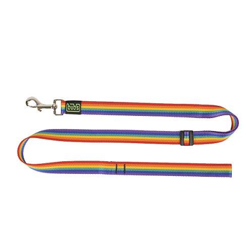 bub's Hundeleine 25mm ausziehbar von 1a 1,6m. (Rainbow)