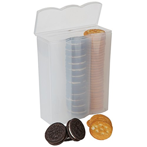 Home-X Convenient Cracker and Cookie Keeper. 3 Rows
