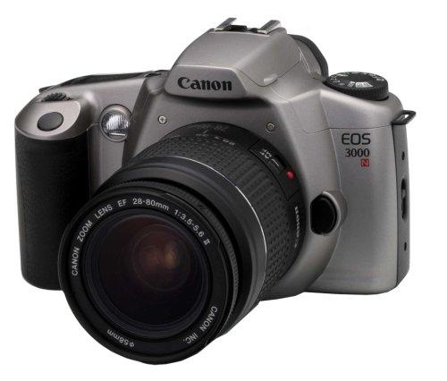 Canon EOS 3000N Spiegelreflex 135 mm Kamera