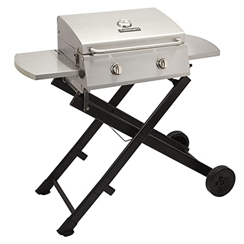 Cuisinart CGG-340 Chef's Style Roll-Away Portable Gas Grill, Stainless Steel