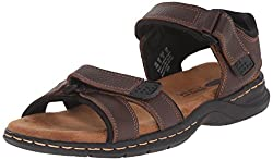 in budget affordable Dr. Scholl's Men's Gas Sandals, Brown, 9 Million US