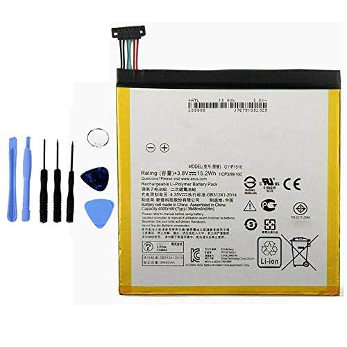 Ellenne Batteria Compatibile con ASUS ZENPAD S 8.0 C11P1510 Z580CA Alta capacità 4000MAH con Kit SMONTAGGIO Incluso