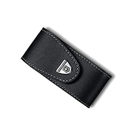 Victorinox Personnalisé Pochette en cuir boucle de ceinture pour Armée Suisse 2-4 couches-Marron