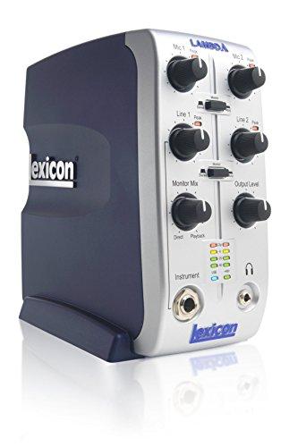 Lexicon Lambda Multi-Channel Desktop Recording Studio, 4x2x2 (4-input, 2-bus, 2-output)