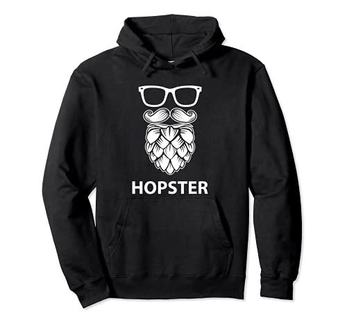 Hopster - Cerveza Artesanal Sudadera con Capucha