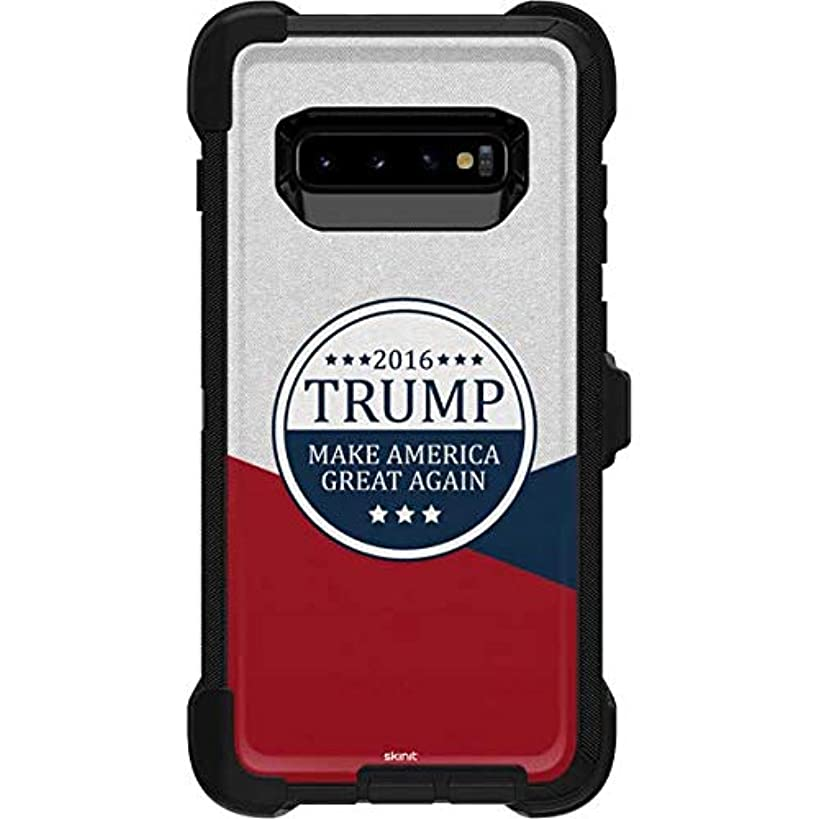Skinit 2016 Trump Make America Great Again OtterBox Defender Galaxy S10 Plus Skin - Political OtterBox Case Decal - Ultra Thin, Lightweight Vinyl Decal Protection