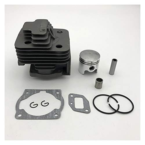 LiMePng 40mm & 44mm Zylinderkolben Kit 43cc 52cc 1E44F-5 44F-5 44-5 BG520 CG520 CG430 1E40F-5 40-5 Wiederböses Trimmerteile LiMePng (Size : 44 5 44mm)