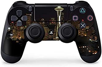 Scenic Cities PS4 Controller Skin - Seattle Skyline with Space Needle at Night | Photography & Skinit Skin