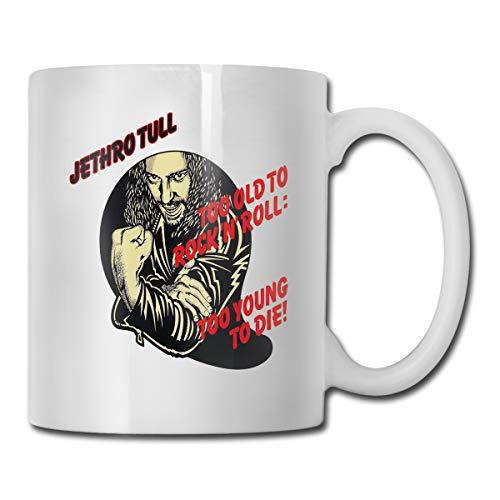 Jldoenh Udjgn Jethro Tull taza de cerámica 330 ml taza de diseño humanizado regalo