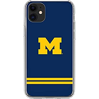 FOCO NCAA Michigan Wolverines Unisex iPhone 11 MAX Pro 6.5 Inch Screen Only Dual Hybrid Impact Licensed Case Team Color One Size