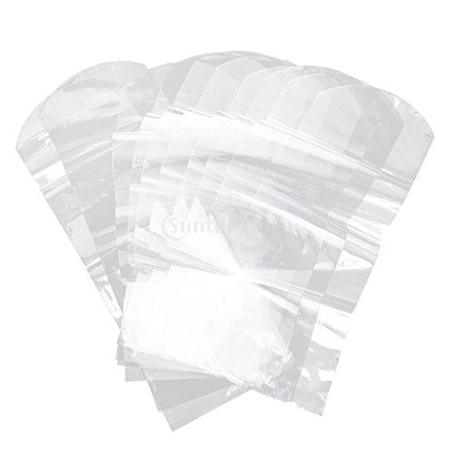 IPOTCH 10ピース 個 Calore Termorestringente Pellicola Protettiva Film per Televisione, Video, AC Telecomando - 6x25cm