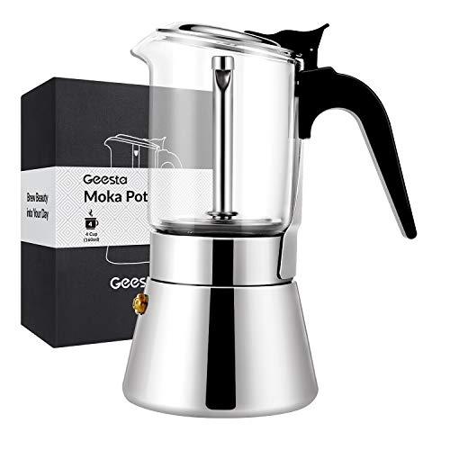 cafetera 4 tazas induccion fabricante Geesta