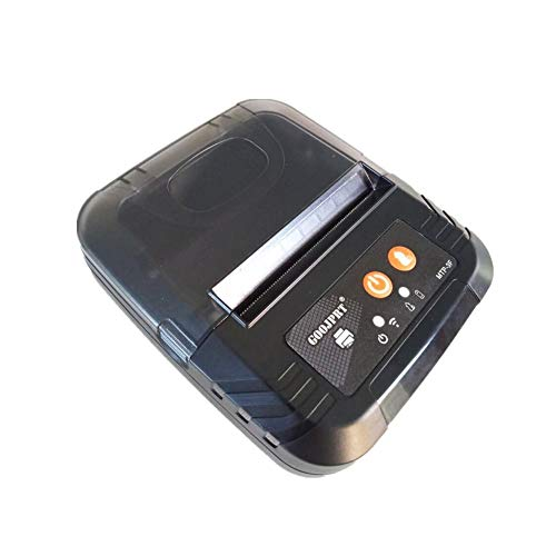 gaeruite 80mm Mini Imprimante de reçu Thermique sans Fil Bluetooth, Imprimante de Ticket de Ticket USB Compatible avec Les Commandes ESC/POS/Star Print