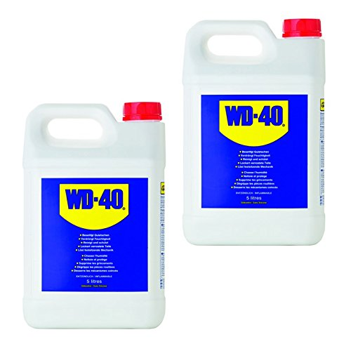 2x 5l = 10litros WD de 40Grande para colectividades multifunktionsöl Aceite multifunción del Mucho Utilizar con Pray Lubricante óxido Kriechöl sprühöl Lubricante Bidón