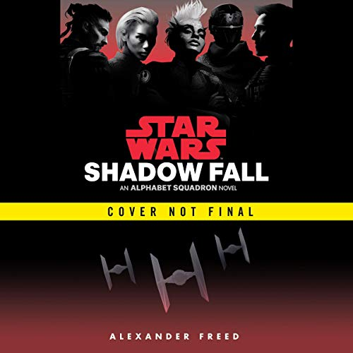 Shadow Fall (Star Wars) audiobook cover art