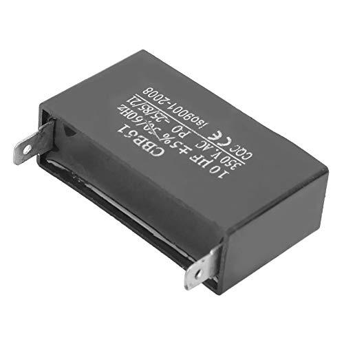 Condensador de Arranque, Cbb61 350V 10Uf ± 5% Condensador Motor del Ventilador Condensador de Arranque 50/60Hz