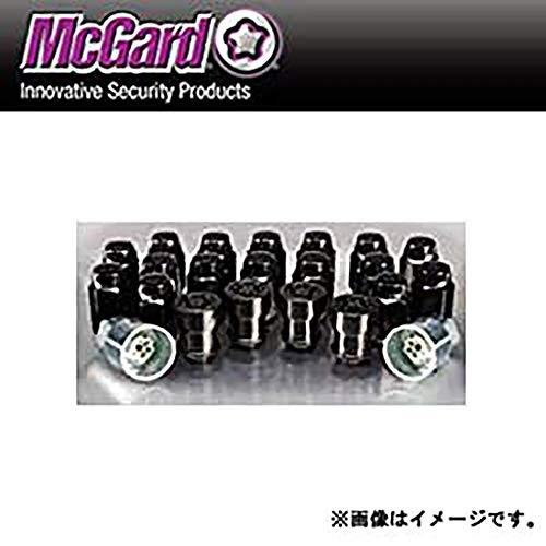McGard(マックガード) ウルトラハイセキュリティ インストレーションキット フクロタイプ ブラック テーパー M12×P1.5 全長:32.5 レンチ径:21 MCG-84863BK