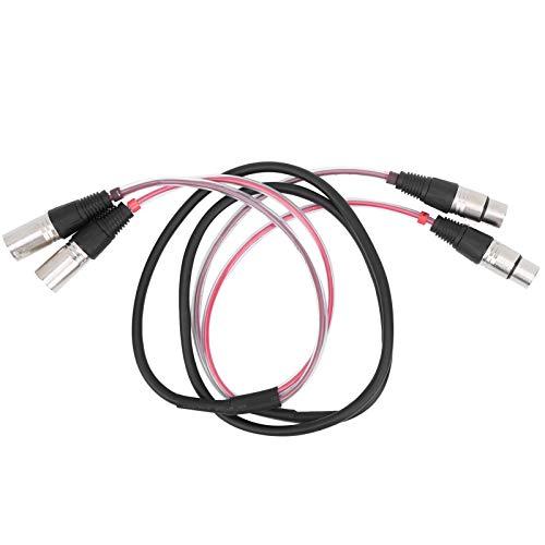 Symmetrisches XLR-Kabel XLR-Audiokabel Praktisch für Multimedia-Lautsprecher für Mikrofone(1.5 m)