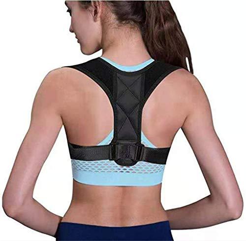 GYL Hong Yuan Körperhaltung-Korrektor für Damen und Herren, Rückenstütze Haltungstrainer,Verstellbar Atmungsaktiv Haltungstrainer Geradehalter Körperhaltung und Unterstützung