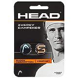HEAD Unisex Zverev Dampener Tennis D mpfer, BlauGrün Hot Lava,Einheitsgröße EU