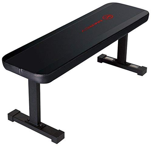 Marcy Flat Utility 600 lbs Capacity Weight Bench for Weight Training...