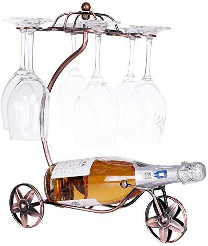 HJXSXHZ366 Estantería de Vino Estante del Vino y de la Botella botellero botellero, Guantes de Estante del Vino, los Textiles for el hogar Europeas sobre el mostrador Estante de Vino pequeño