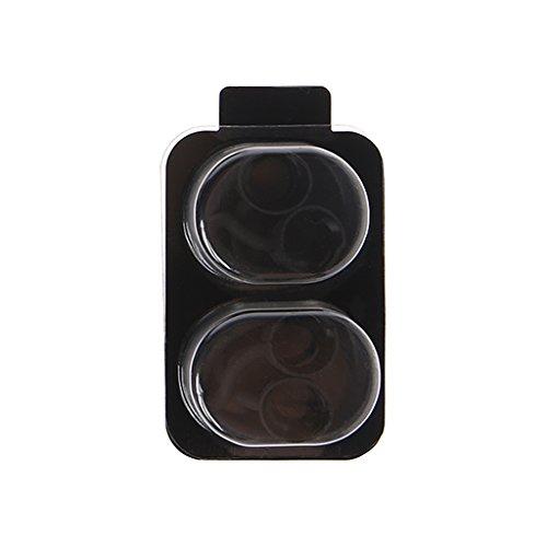 Tajie 2 Pares de Almohadillas de Silicona de Repuesto para Auriculares Beatsx Urbeats TOUREarphone, Negro
