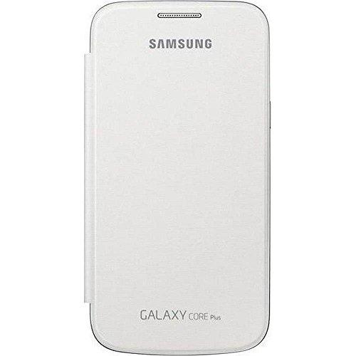 Samsung EF-FG350NWEGWW Flip Cover für Samsung Galaxy Core Plus weiß