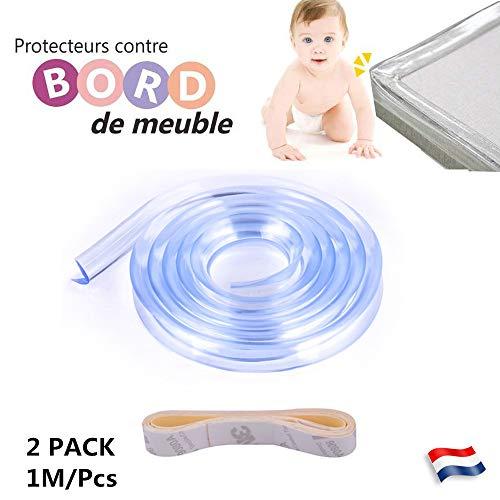 Prettygood7/4/pcs Table Coin Edge Garde de s/écurit/é Transparent Coque de protection gardes Safe Coussin pour enfants b/éb/é enfant